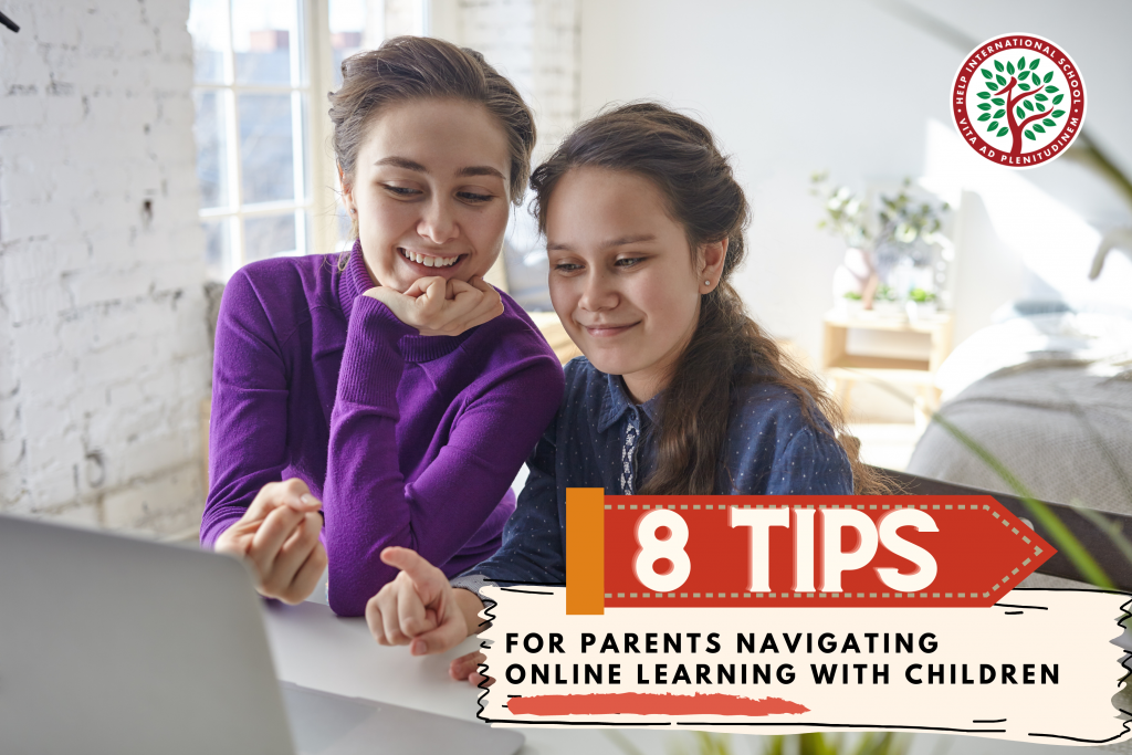 8 Tips For Parents Navigating Online Learning With Their Children