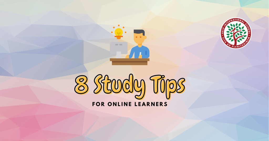 8 Study Tips For Online Learners