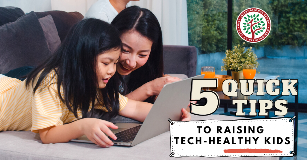 5 Tips to Raising Tech-Healthy Kids