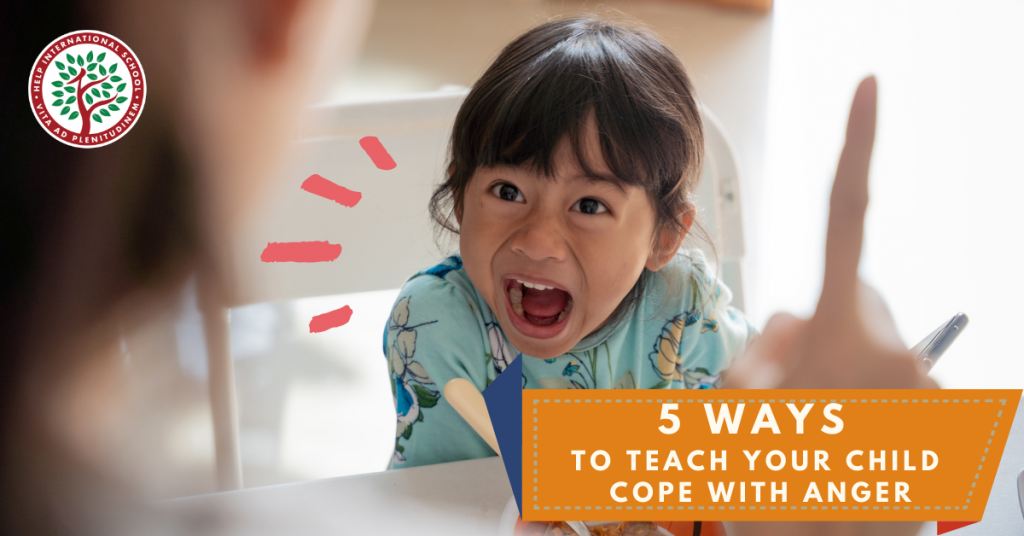 5 Ways to Teach Your Child Cope with Anger