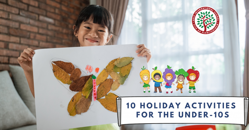10 Holiday Activities for the Under-10s